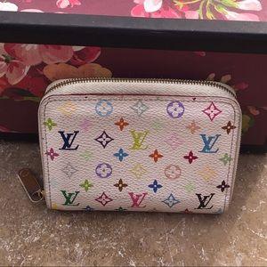 Authentic LV Multicolor zippy wallet